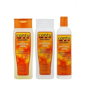Cantu Shea Butter Shampoo + Hydrating Conditioner + Curl Activator