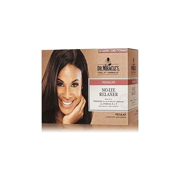 Dr. Miracle's No Lye Relaxer Kit-Regular