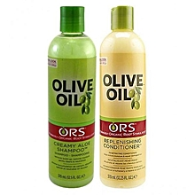 ors olive oil shampoo and conditioner