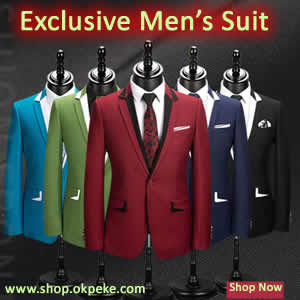 Price of men's suit in Lagos Nigeria