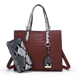 2 Pcs High Quality Ladies Handbag