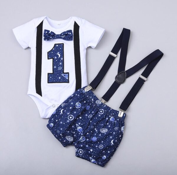BABY BOY one year birthday outfit