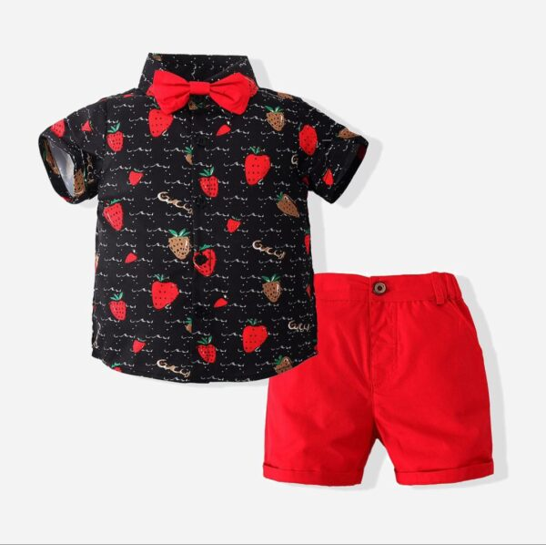 BOYS Vintage top and short pant