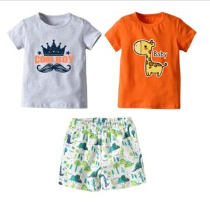 3pcs Boys Clothing Set